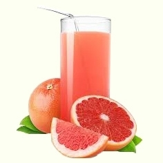 Freshly squeezed grapefruit juice